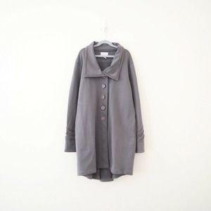 Soft Surrounding Stretch Jersey Lace Detail Jacket